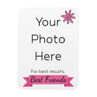Best Friends with Photo Magnet