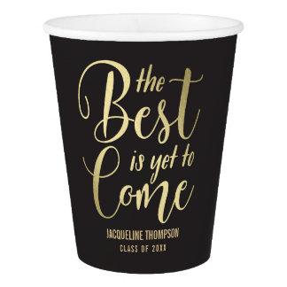 Best Future EDITABLE COLOR Graduation Paper Cup
