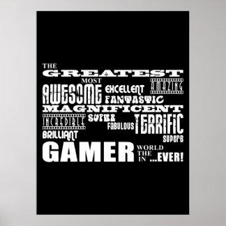 Best Gamers Birthdays : Greatest Gamer Print