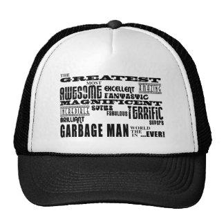 Best Garbage Men : Greatest Garbage Man Trucker Hat