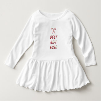 Best Gift Ever Christmas Dress with Candy Canes