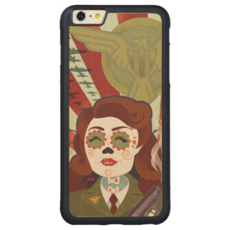 Best Girl Carved Maple iPhone 6 Plus Bumper Case