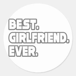Best Girlfriend Ever Sticker