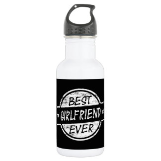 Best Girlfriend Ever White 532 Ml Water Bottle