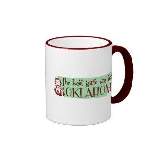 Best Girls are from Ohio Ringer Mug