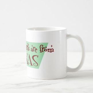 Best Girls are from Texas Basic White Mug