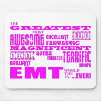 Best Girls EMTs : Pink Greatest EMT Mouse Pads