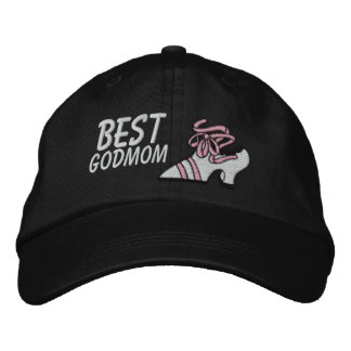 Best Godmother Embroidered Hat