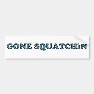 Best Gone Squatchin Funny Bumper Sticker