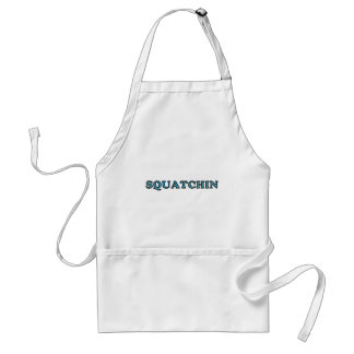 Best Gone Squatchin Funny Ever Adult Apron