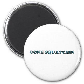 Best Gone Squatchin Funny Fridge Magnets