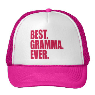 Best. Gramma. Ever. (pink) Mesh Hat