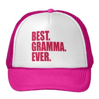 Best. Gramma. Ever. (pink) Cap