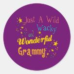 Best Grammy Gifts Round Sticker