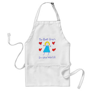 Best Gran In The World Aprons