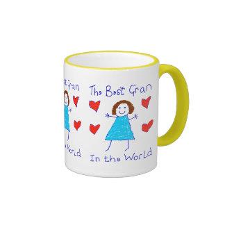 Best Gran In The World Coffee Mug