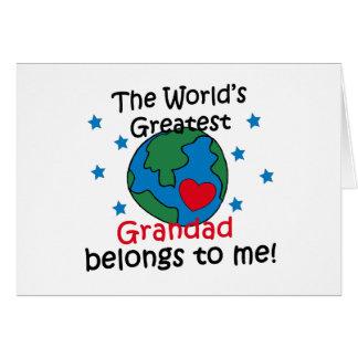 Best Grandad Belongs to me Cards
