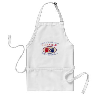 Best    Grandad Hands Down Standard Apron