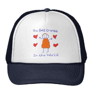 Best Grandad In The World Mesh Hats
