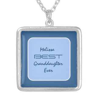Best GRANDDAUGHTER Ever Hues of Blue V14B Jewelry