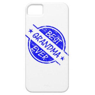 Best Grandma Ever Blue iPhone 5 Cover