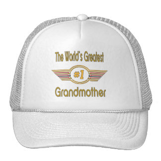 Best Grandma Ever Hats