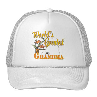 Best Grandma Ever Mesh Hats