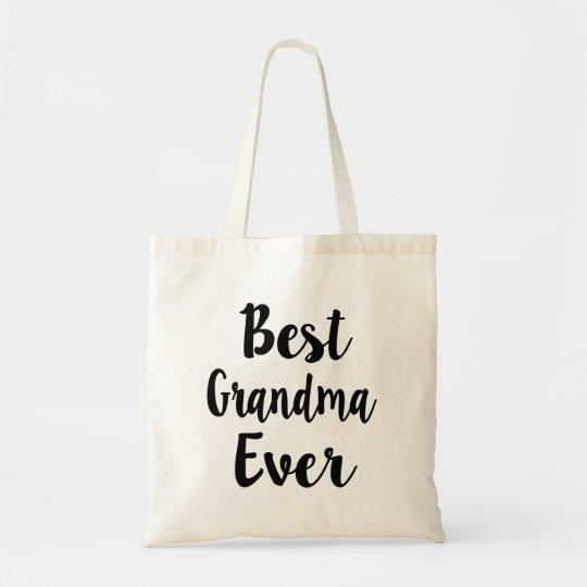 Best Grandma Ever funny tote bag