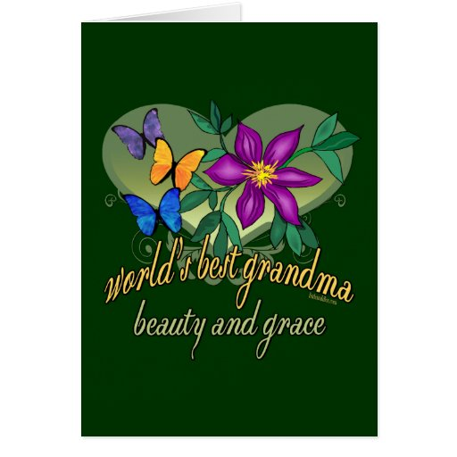 Best grandma ever greeting cards for Best holiday cards ever