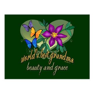 Best Grandma Ever Postcards