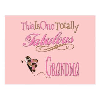 Best Grandma Ever Postcard