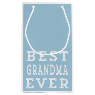 Best Grandma Ever Small Gift Bag