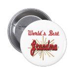 Best Grandma Gifts Pinback Buttons