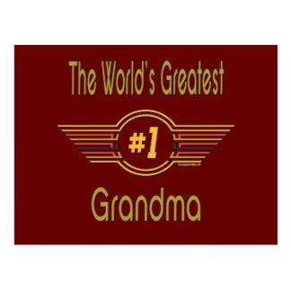 Best Grandma Gifts Postcard