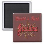 Best Grandma Gifts Square Magnet