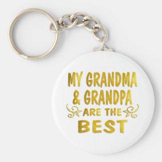 Best Grandma Grandpa Keychains
