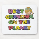 Best Grandma On The Planet Mouse Pad