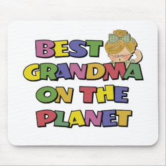 Best Grandma On The Planet Mouse Pads