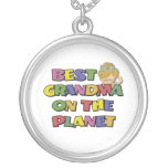 Best Grandma On The Planet Necklaces