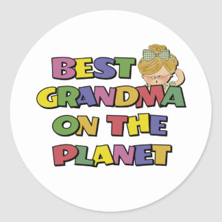 Best Grandma On The Planet Stickers