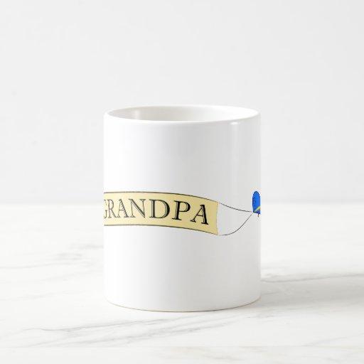 Best Grandpa Biplane Mug