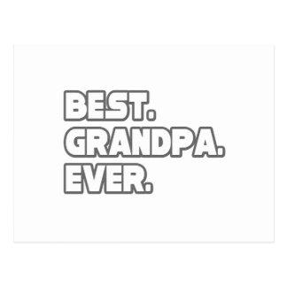 Best Grandpa Ever Postcard