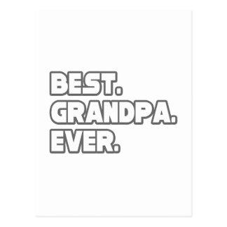 Best Grandpa Ever Postcards