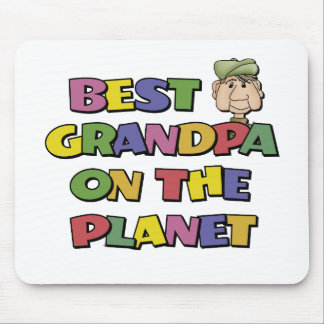 Best Grandpa On The Planet Mousepads
