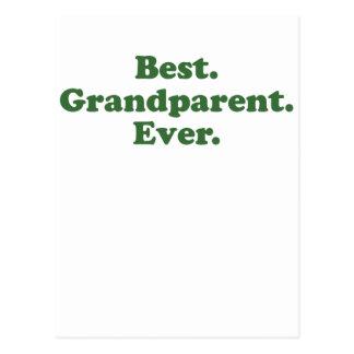 Best Grandparent Ever Postcard