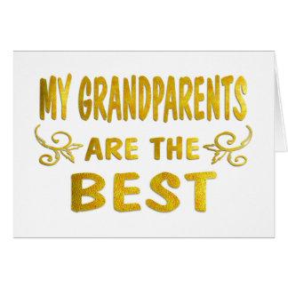 Best Grandparents Card