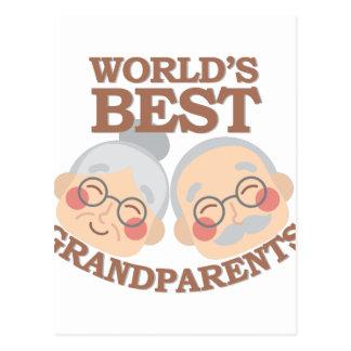 Best Grandparents Postcard