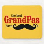 Best Grandpas Have Moustaches Mousepad