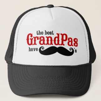 Best Grandpas Have Mustaches Hat
