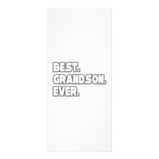 Best Grandson Ever Rack Cards